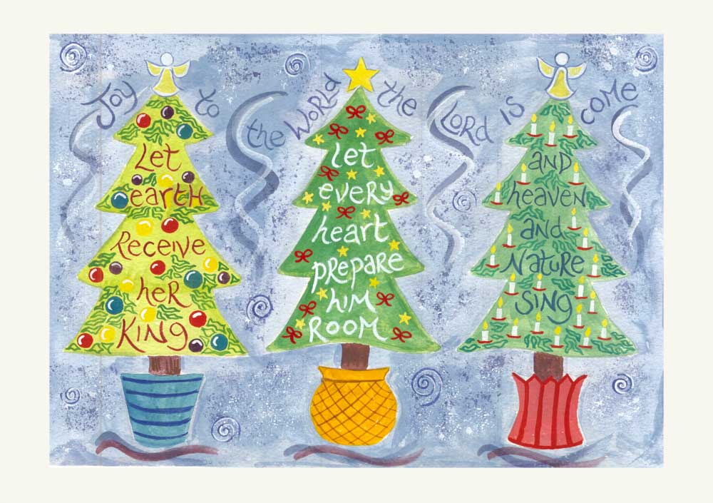 Hannah Dunnett Joy to the World Christmas Card