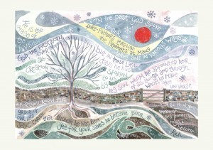 Hannah Dunnett Winter Sun Christmas Card