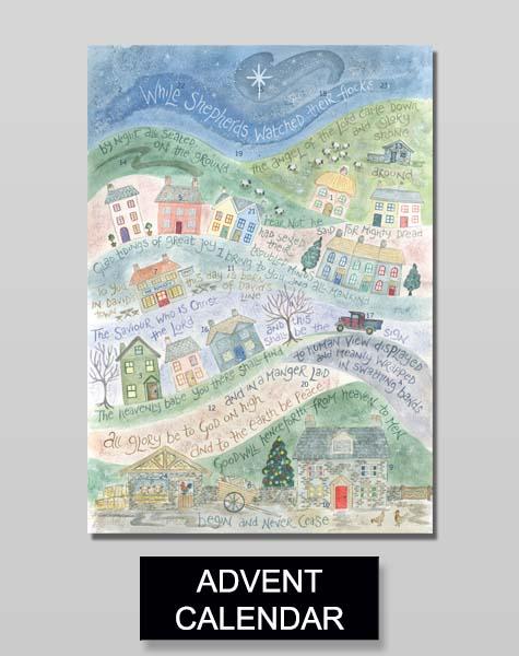 Hannah Dunnett advent calendar banner
