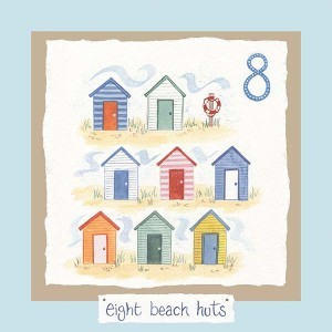 Hannah Dunnett number eight card blue background