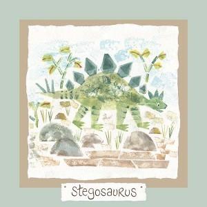Hannah Dunnett stegosaurus card