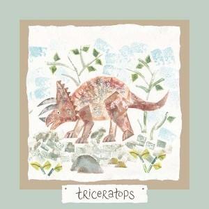 Hannah Dunnett triceratops card
