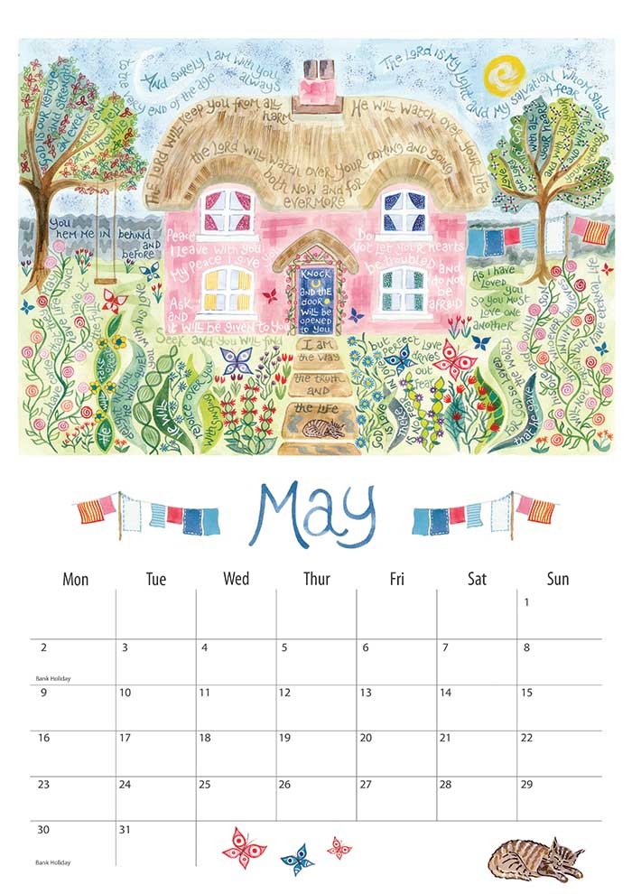 Calendar 2016 | ben and hannah dunnett: www.benandhannahdunnett.com/shop/stationery/calendar-2016