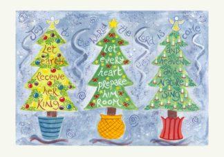 Hannah Dunnett Joy to the World Christmas Card