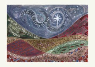 Hannah Dunnett Night Sky Christmas Card