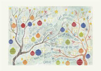 Hannah Dunnett Hark The Herald Christmas card