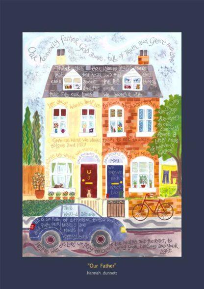 Hannah Dunnett Our Father Art Poster