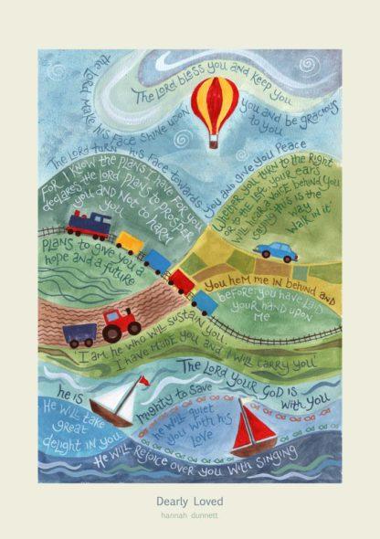 Hannah Dunnett Dearly Loved Art Poster