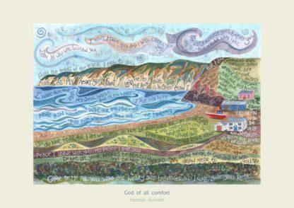 Hannah Dunnett God of all comfort Art Print