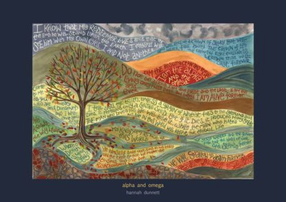 Hannah Dunnett Alpha and Omega Art Print