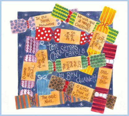 Ben Dunnett Christmas Piano album cover for website