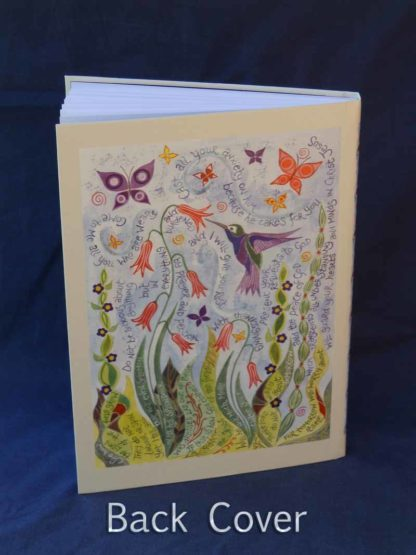Hannah Dunnett Great Delight Journal Back