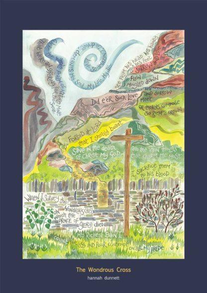 Hannah Dunnett Poster The Wondrous Cross