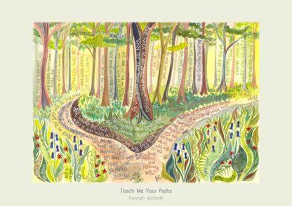 Hannah Dunnett Teach me Your Paths Poster Version