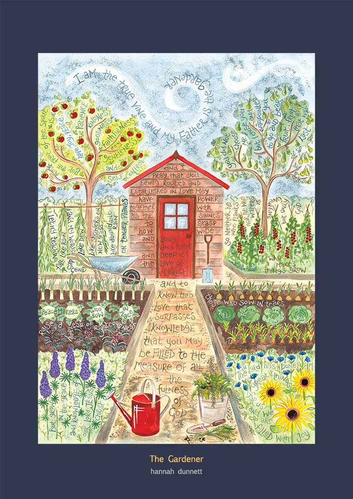 Hannah Dunnett The Gardener Poster version