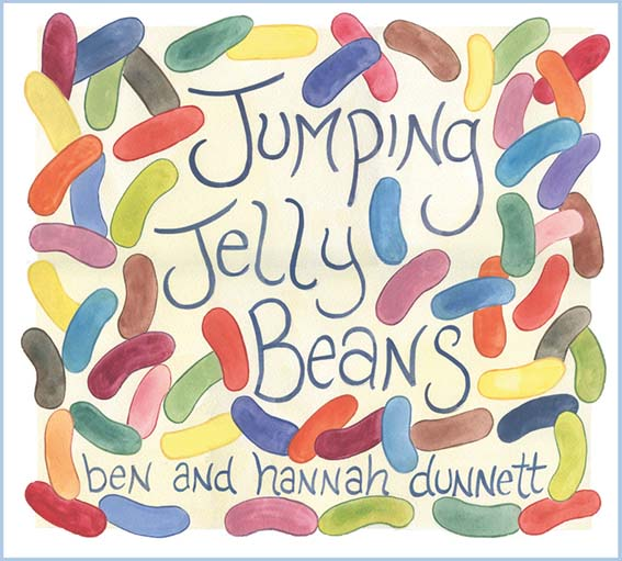 Ben and Hannah Dunnett Jumping Jelly Beans CD Cover