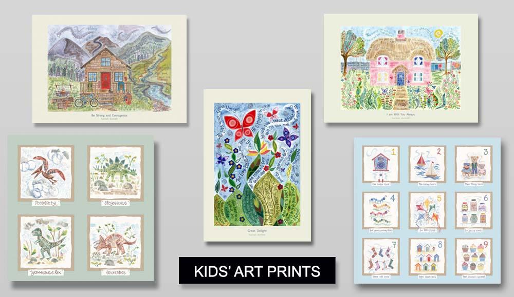 Hannah Dunnett Kids Art Prints