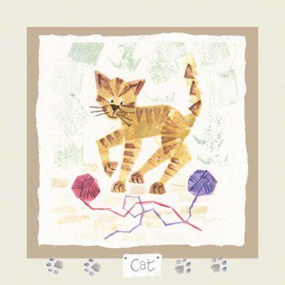 Hannah Dunnett cat card