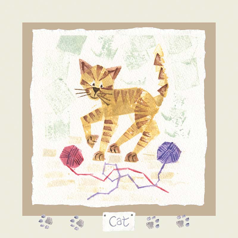 Hannah Dunnett cat card