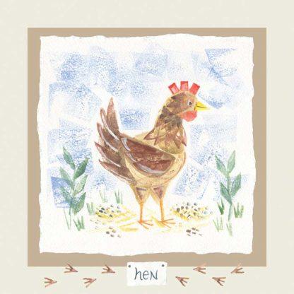 Hannah Dunnett hen card