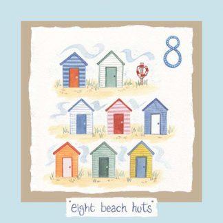 Hannah Dunnett number eight card blue background