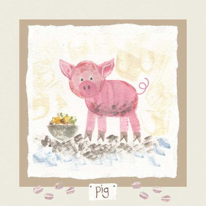 Hannah Dunnett pig card