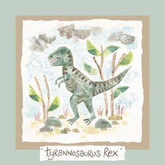 Hannah Dunnett tyrannosaurus rex card