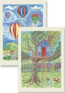 Hannah Dunnett The Lord is My Strength and Give Thanks To The Lord Notecards updated version
