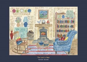 Hannah Dunnett The Lord is near art print