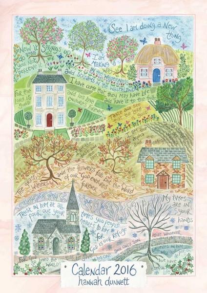 Hannah Dunnett 2016 Calendar Cover