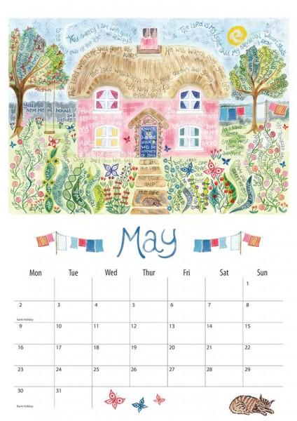 Hannah Dunnett 2016 Calendar May