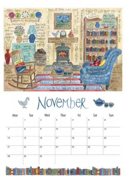 Hannah Dunnett 2016 Calendar November