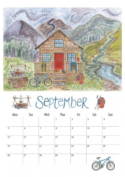 Hannah Dunnett 2016 Calendar September