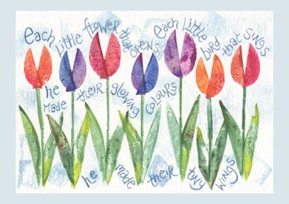 Hannah Dunnett each little flower notecard