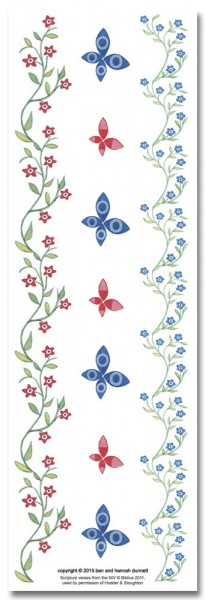 Hannah Dunnett Great Delight bookmark back image