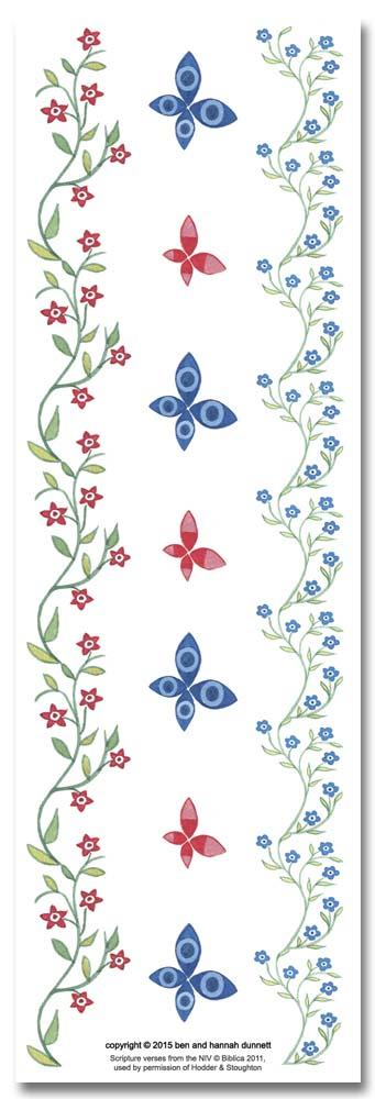 Hannah Dunnett Great Delight bookmark back image