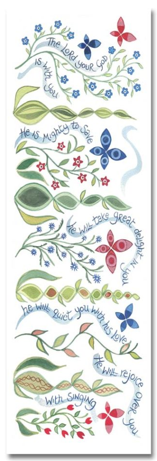 Hannah Dunnett Great Delight bookmark front image