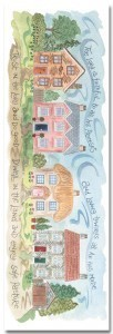 Hannah Dunnett The Lord is Faithful bookmark front image