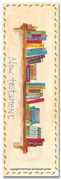 Hannah Dunnett books of the bible bookmark back image