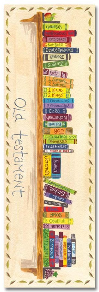 Hannah Dunnett books of the bible bookmark front image