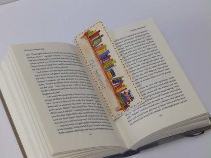 Hannah Dunnett books of the Bible bookmark on book image
