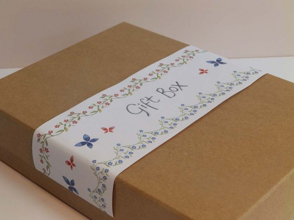 Bright and Beautiful Gift Box Close Up Image