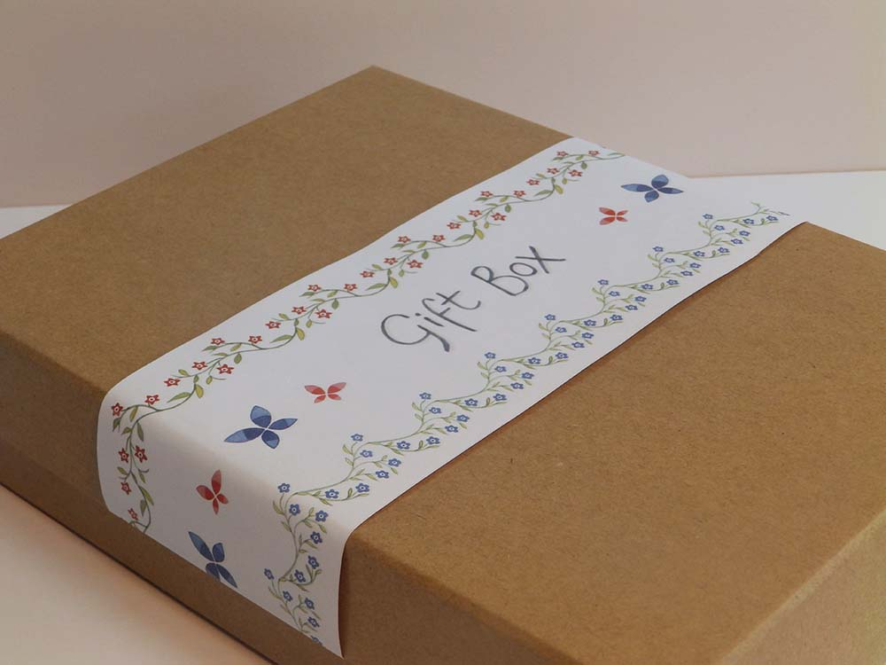 Bright and beautiful gift box ben and hannah dunnett bright and beautiful gift box close up image negle Images
