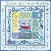 Hannah Dunnett A God who saves notecard