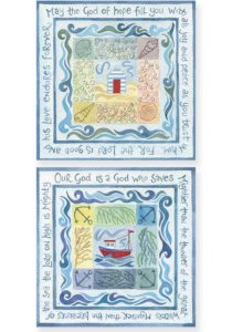 Hannah Dunnett God of Hope and A God Who Saves Notecards version