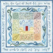 Hannah Dunnett God of Hope notecard