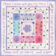 Hannah Dunnett Peace I Leave with you notecard