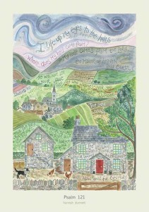 Hannah Dunnett Psalm 121 greetings card