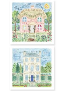 Hannah Dunnett Surely I am With You and Perfect Peace Notecards version