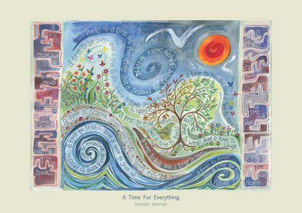 Hannah Dunnett A Time For Everything greetings card
